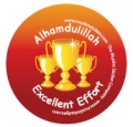 Excellent Effort Cups Badge (5pk)