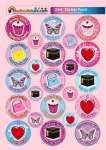 Girls' Sticker Pack