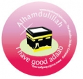 I have good Adaab badge (pink - 5pk)