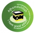 I have good adab badge (5pk)