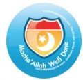 Masha'Allah Well Done Badge (5pk)