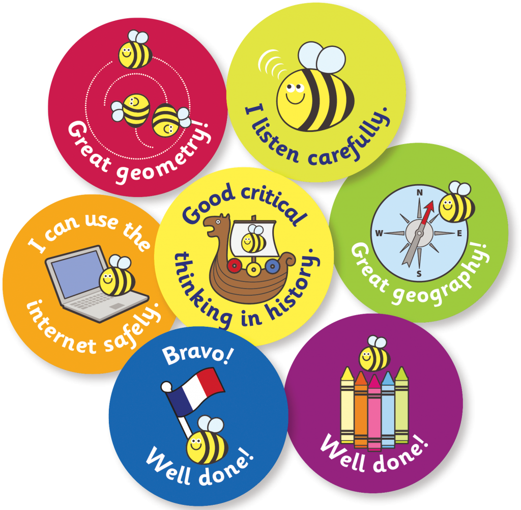 how to use stickers to motivate children